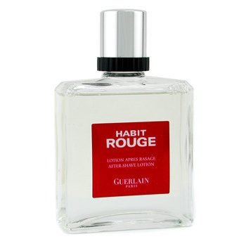 Guerlain Habit Rouge After Shave Lotion  100ml/3.3oz