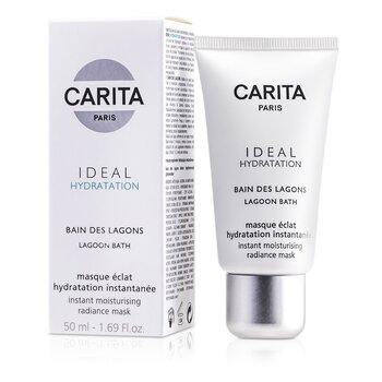 Carita Ideal Hydratation Lagoon Bath Instant Moisturising Radiance Mask 50ml/1.69oz