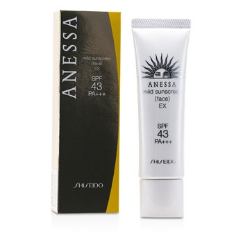 ShiseidoAnessa Mild Sunscreen EX SPF 43 PA+++ 40g