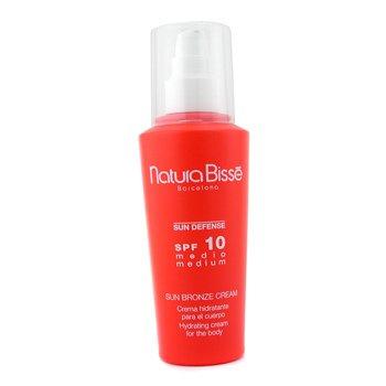 Natura Bisse-Sun Defense Sun Bronze Cream SPF10 - Medium