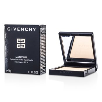 Givenchy Matissime Absolute Matte Finish Powder Foundation SPF 20 – # 13 Mat Satin 7.5g/0.26oz
