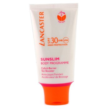 Lancaster-Sunslim Celluli-Burner Tan Booster SPF30 For Body