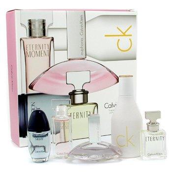 Calvin Klein-Calvin Klein Miniature Set: In2U, Obsession Night, Euphoria, Eternity, Eternity Moment