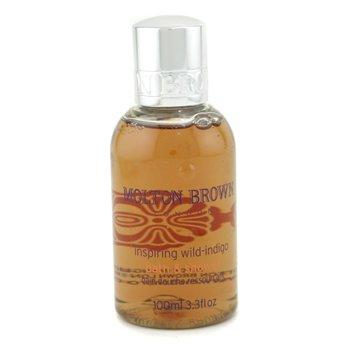 Molton Brown-Inspiring Wild-Indigo Bath & Shower Gel