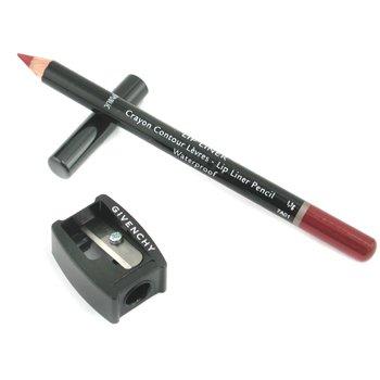 Givenchy Wodoodporna kredka do ust Lip Liner Pencil Waterproof (z temper�wk�) - # 8 Lip Coffee  1.1g/0.03oz