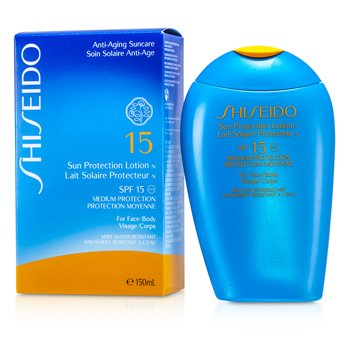 Shiseido-Sun Protection Lotion N SPF 15 ( For Face & Body )
