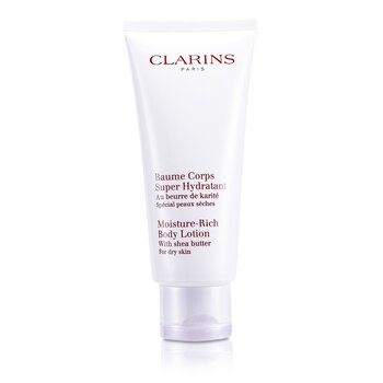 Clarins-Moisture Rich Body Lotion with Shea Butter ( Dry Skin )