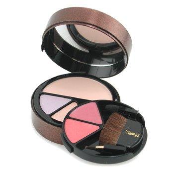 Yves Saint Laurent-Sensation Soleil MakeUp Palette ( 1x Bronzing Powder, 2x E/Shadow, 2x Shiny Lipstick ) - # 2