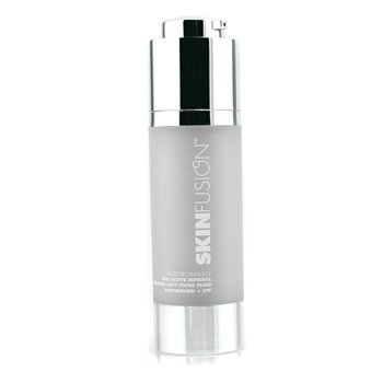 Fusion Beauty-SkinFusion Micro Technology Bio Active Intuitive Soft Focus Fluid Foundation SPF10 - # Medium/Dark