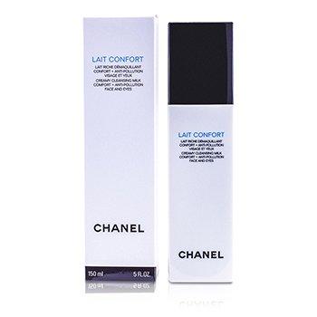 ChanelPrecision Lait Confort Creamy Leche Limpiadora Rostro y Ojos 150ml/5oz