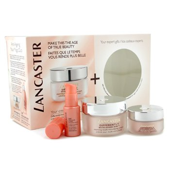 Lancaster-Your Differently Anti-Aging Programme: Cream 50ml+ Night Crm 15ml+ 365 Cellular Elixir 10ml