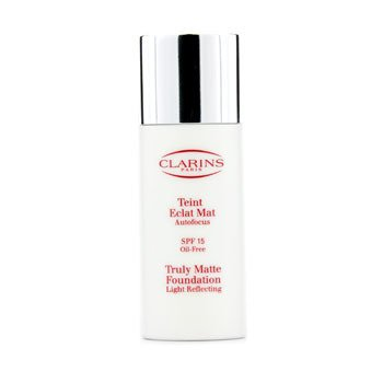 Clarins-Truly Matte Foundation Light Reflecting SPF15 - # 00 Rosee