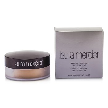 Laura Mercier Mineral Powder SPF 15 - Natural Beige (Peach Beige for Fair to Medium Skin Tones)  9.6g/0.34oz