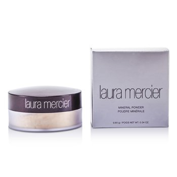 Laura Mercier-Mineral Powder SPF 15 - Soft Porcelain ( Beige Ivory for Very Fair Skin Tones )