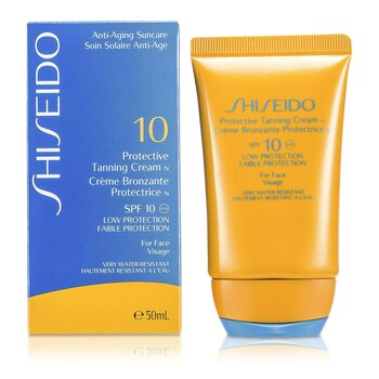 ShiseidoProtective Tanning Cream N SPF 10 (For Face) 50ml/1.7oz