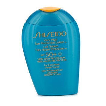 Shiseido Very High Sun Protection Lotion N SPF 50+ (For Face & Body) 100ml