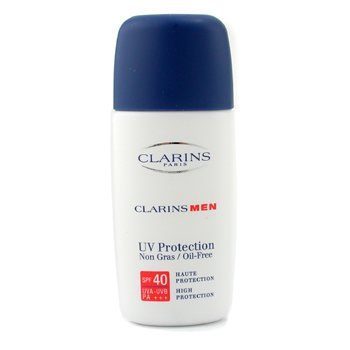 Clarins-Men UV Protection SPF40 PA+++ Oil Free