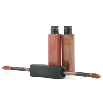 Joey New York-Collagen Boosting Lip Gloss Duo - # Subtle / Brown Sugar