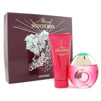 Boucheron-Miss Boucheron Coffret: Eau De Parfum Spray 50ml + Body Lotion 100ml