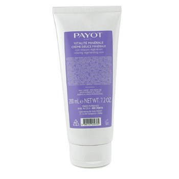 Payot-Creme Delice Minerale Relaxing Regenerating Care ( Tube )