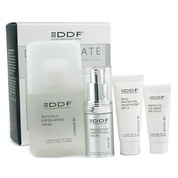 DDF-Decelerate Professional Anti-Aging Protocol: Wash 130ml + Serum 15ml + Day Cream 15ml + Eye Cream 7.5ml