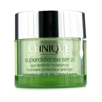 Clinique Superdefense Age Defense Moisturizer SPF 25 (Combination Oily to Oily)  50ml/1.7oz