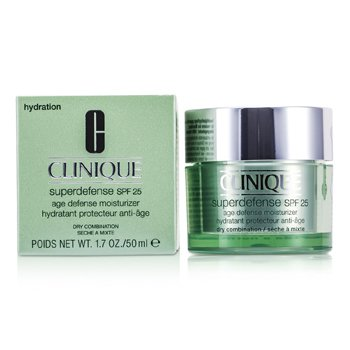 Clinique Superdefense Age Defense Moisturizer SPF 25 (Dry Combination)  50ml/1.7oz