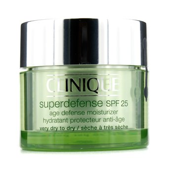 CliniqueSuperdefense Age Defense Moisturizer SPF 25 (Very Dry To Dry) 50ml/1.7oz