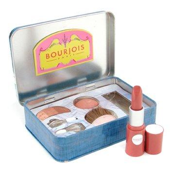 Bourjois-Wish You Were Here Palette ( EyeShadow Trio + Blush + Lovely Rouge Lipstick ) - # Saint Tropez