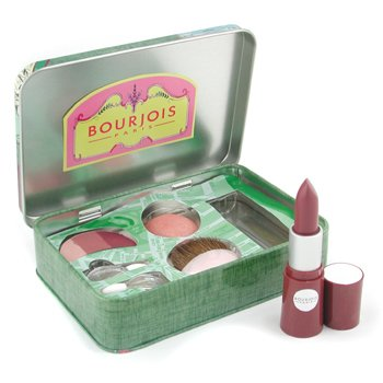 Bourjois-Wish You Were Here Palette ( EyeShadow Trio + Blush + Lovely Rouge Lipstick ) - # Bordeaux