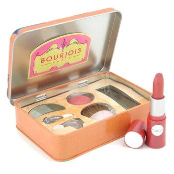 Bourjois-Wish You Were Here Palette ( EyeShadow Trio + Blush + Lovely Rouge Lipstick ) - # Tahiti