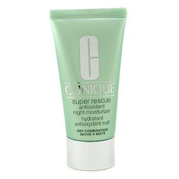 Clinique-Super Rescue Antioxidant Night Moisturizer ( Dry Combination Skin )