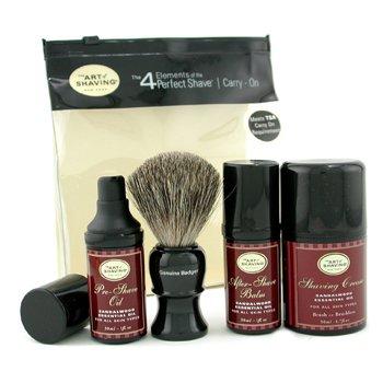 The Art Of Shaving-Carry On Kit - Sandalwood ( For All Skin Types )