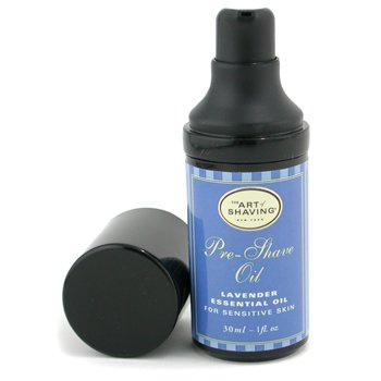 The Art Of Shaving-Pre Shave Oil - Lavender Essential Oil ( Travel Size, Pump, For Sensitive Skin )