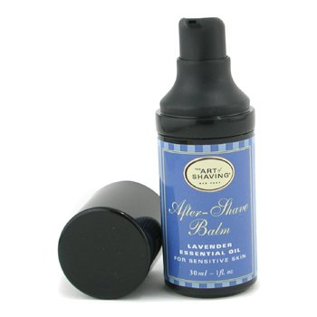 The Art Of Shaving-After Shave Balm - Lavender Essential Oil ( Travel Size, Pump, For Sensitive Skin