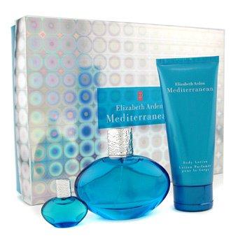 Elizabeth Arden-Mediterranean Coffret: Eau De Parfum Spray 50ml + Body Lotion 100ml + Eau De Parfum Spray 5ml