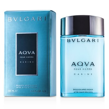 Bvlgari Aqva Pour Homme Marine After Shave Emulsion  100ml/3.4oz