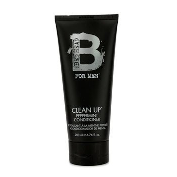 Bed Head B For Men Clean Up Peppermint Conditioner Tigi Bed Head B For Men Clean Up Кондиционер с Перечной Мятой 200ml/6.76oz