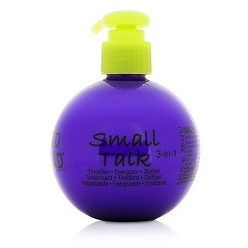 TigiBed Head Small Talk - 3 in 1 Thickifier, Energizer & Stylizer 200ml/8oz
