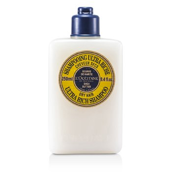 L'Occitane Shea Butter Ultra Rich Shampoo (For Dry Hair)  250ml/8.4oz