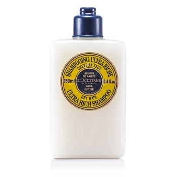 L'Occitane Shea Butter Ultra Rich Shampoo (For Dry Hair) 250ml/8.4oz