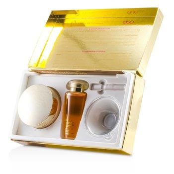 J. F. Lazartigue Home Spa Essential Duo con aceite Bancoulier: Essential Cabello Crema 200ml + Serum 100ml  3pcs