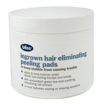BlissCompressas esfoliante p/ retirar pelo encravado Peeling ( Fora da caixa ) 50pads