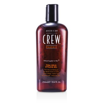 Men Styling Gel - Firm Hold American Crew Гель для Укладки Волос для Мужчин - Сильная Фиксация 250ml/8.45oz