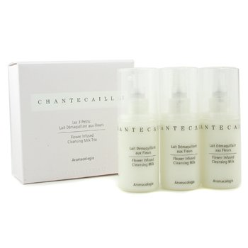 Chantecaille-Cleansing Milk Trio: 3x Flower Infused Cleansing Milk 30ml