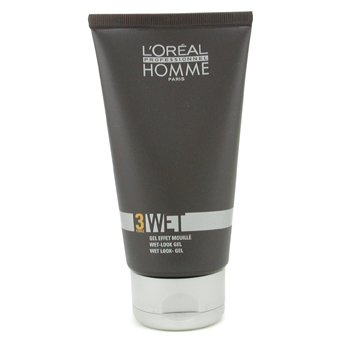 L'OrealProfessionnel Homme Wet - Wet Look Gel 150ml/5oz
