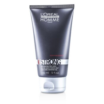 L'OrealProfessionnel Homme Strong - Gel Fijador Fuerte 150ml/5oz