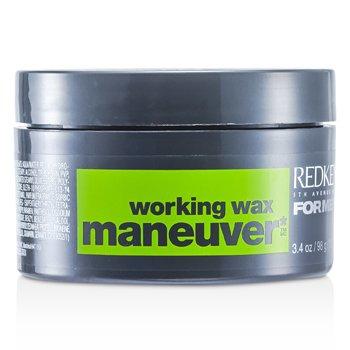 Redken Men Maneuver Working Wax - Cera Moldeadora Hombre  100ml/3.4oz