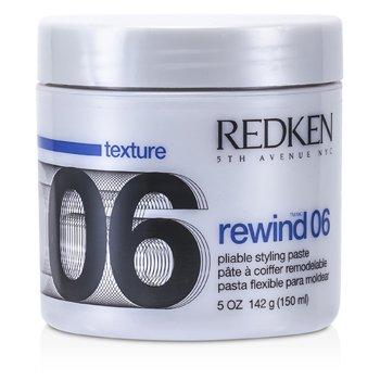 RedkenRewind 06 Pliable Styling Paste - Pasta Flexible para modelar 142g/5oz