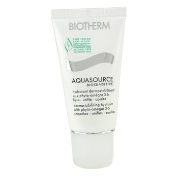 Biotherm-Aquasource Biosensitive Dermostabilising Hydrator ( Normal To Dry Skin )